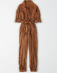 AE Long Sleeve Utility Jumpsuit