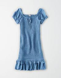AE Tiered Off-The-Shoulder Mini Dress