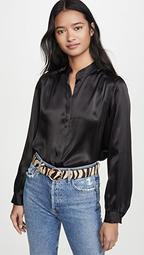 Bianca Band Collar Blouse