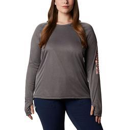 Tidal Tee™ Heather Hoodie - Plus Size