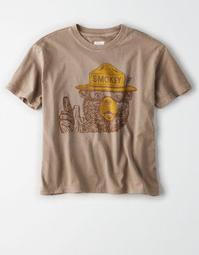 Tailgate Women's Smokey Bear Graphic T-Shirt