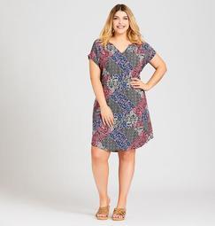 Mixed Media Bella Dress