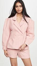 Laise Pleated Blazer