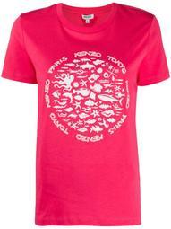 sealife print T-shirt