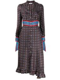 Catlyn printed midi dress