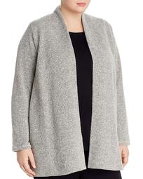 Organic Cotton Open-Front Cardigan