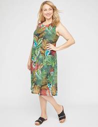 Botanical Blend A-Line Dress