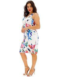 Coast Natlia Print Shift Dress