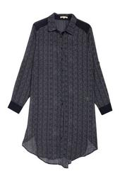 Millicent High/Low Shirt Dress (Plus Size)