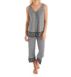 Ellen Tracy Medallion PJ Set 8722916