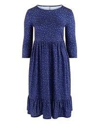 Short Sleeve Smock Dress