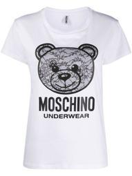 lace bear pyjama T-shirt
