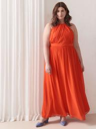 Grecian Halter Maxi Dress - Addition Elle