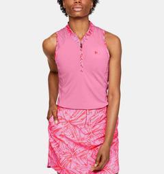 Women's UA Zinger Zip Sleeveless Polo