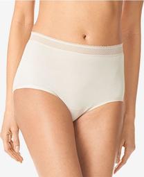 Breathable Embroidered-Trim Brief Underwear RS4901P