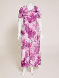 Lakeport Tie-Dye Maxi Dress (With Pockets)