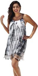 Swimsuits For All Women's Plus Size Hannah Cover Up Tunic