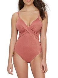 Kenneth Cole Womens Day Glow Push-Up Control One-Piece Style-KC0EZ10
