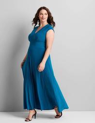 Knit Kit Seamed Maxi Dress