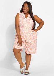 Aria Bermuda Short Pajama Set