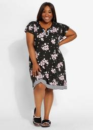 Company By Ellen Tracy Floral Gown