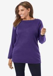 Boatneck Tunic Sweater