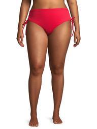 No Boundaries Juniors' Plus Size Smocked Swimsuit Bottoms