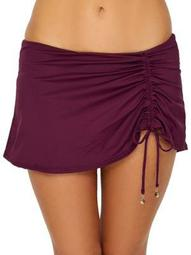 Anne Cole Signature Womens Live In Color Skirted Bikini Bottom Style-19MB40701