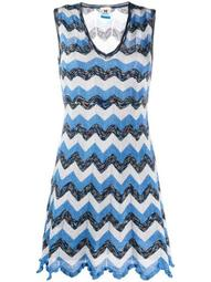 knitted zigzag dress
