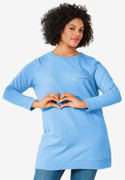 Love Tunic Sweatshirt by ellos®