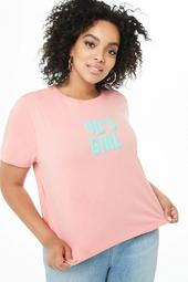 Plus Size 90s Girl Graphic Tee