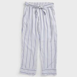 STRIPE SIDE TIE PANTS