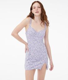 Floral Sweetheart Slip Dress