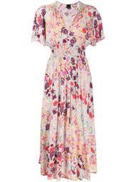 floral print elasticated dress