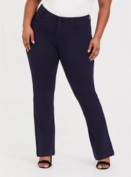 Studio Signature Stretch Navy Premium Ponte Trouser