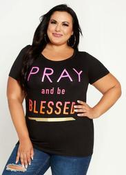 Pray & Be Blessed Graphic Tee