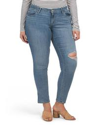 Plus 711 Skinny Outta Time Jeans