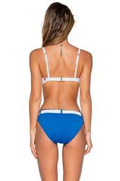 Swim Systems Swimwear Maritime Stripe Zuma Belted Hipster