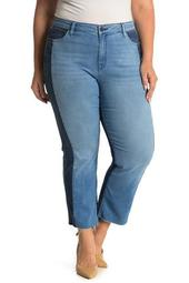 Modern Standard Straight Crop Jeans (Plus Size)