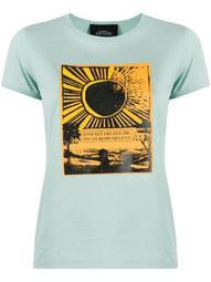 sunrise print T-shirt