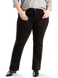 Levi's Women's Plus Size Classic 414 Straight Leg Jean