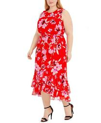 Plus Size Sleeveless Maxi Dress
