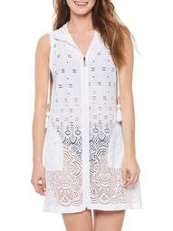 Dotti Womens Gypsy Gem Hooded Swim Cover-Up Style-DTGGC100