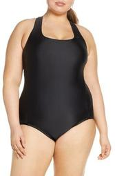 Essential Crossback One-Piece Swimsuit