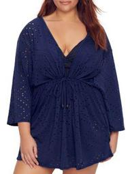 Dotti Womens Plus Size Mayan Diamond Cover-Up Style-DTDCC1X0