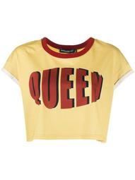 queen cropped T-shirt