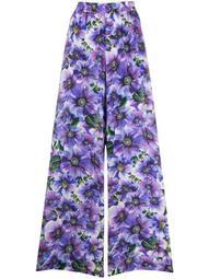 floral-print palazzo pants