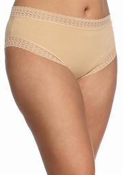 Plus Size Cotton Tanga Hipsters