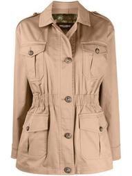 pocket-detail button-up jacket