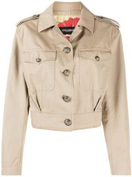 button-up cropped jacket
